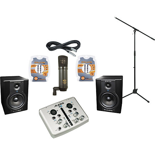 M-Audio Alesis i02 express and M-Audio BX5a Recording Package