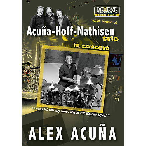 Alfred Alex Acuña Acuña-Hoff-Mathisen Trio in Concert DVD & CD