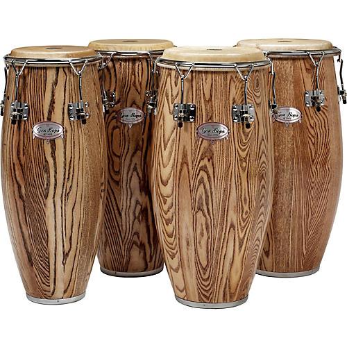 Gon Bops Alex Acuna Series Super Quinto Drum Natural Lacquer