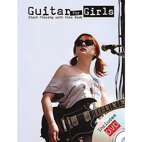 Rock House Alex Bach - Guitar for Girls Music Sales America Series Softcover with DVD Written by Alex Bach-thumbnail