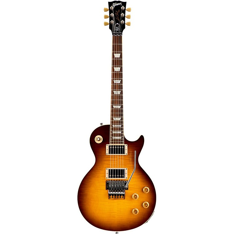 Gibson Custom Alex Lifeson Les Paul Axcess Electric Guitar Viceroy Brown