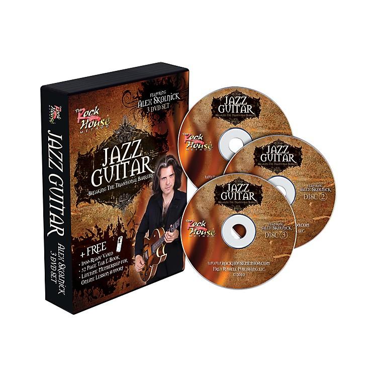 Rock HouseAlex Skolnick Jazz Guitar: Breaking the Traditional Barriers 3-DVD Set