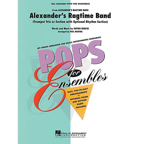 Hal Leonard Alexander's Ragtime Band Concert Band Level 2.5 Arranged by Paul Murtha-thumbnail