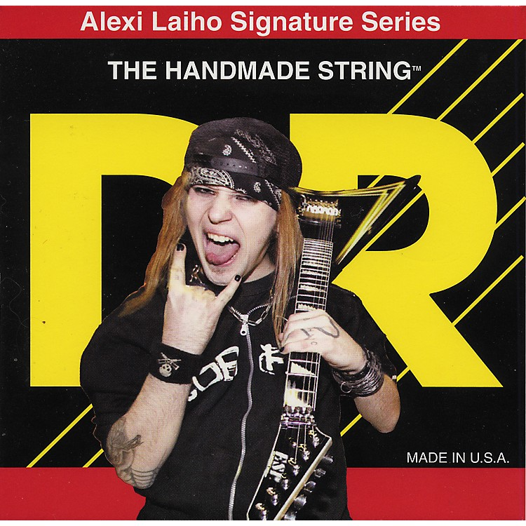 DR Strings Alexi Laiho Signature Electric Guitar Strings - Lite