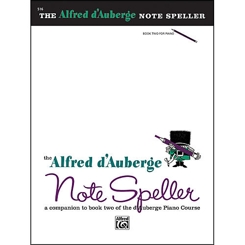 Alfred Alfred d'Auberge Piano Course Note Speller Book 2