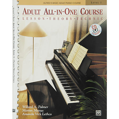 Alfred Alfred's Basic Adult All-in-One Course Book 1 Book 1 & CD-thumbnail
