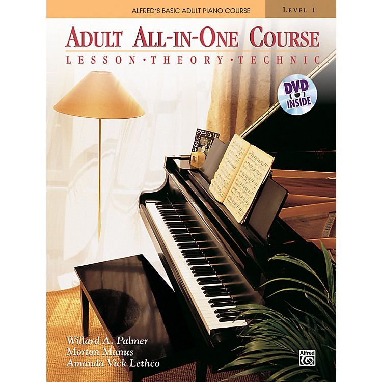 Alfred Alfred's Basic Adult All-in-One Course Book 1 & DVD