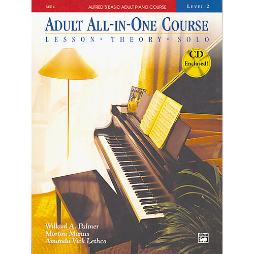 Alfred Alfred's Basic Adult All-in-One Piano Course Book 2-thumbnail