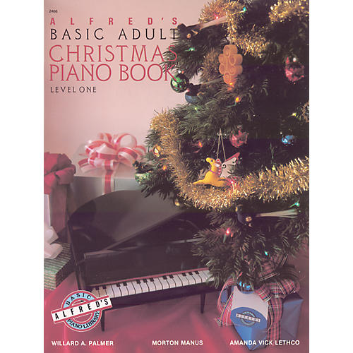 Alfred Alfred's Basic Adult Piano Course Christmas Piano Book 1