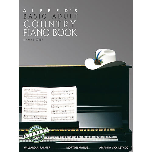 Alfred Alfred's Basic Adult Piano Course Country Songbook Book 1