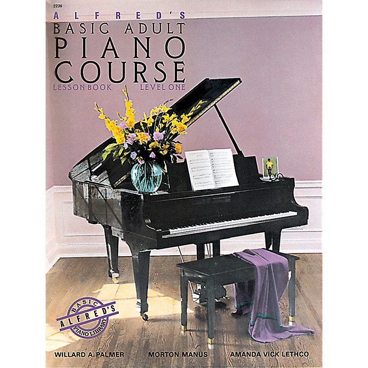 Alfred Alfred's Basic Adult Piano Course Lesson Book 1