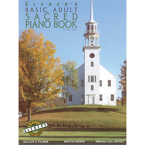 Alfred Alfred's Basic Adult Piano Course Sacred Book 2