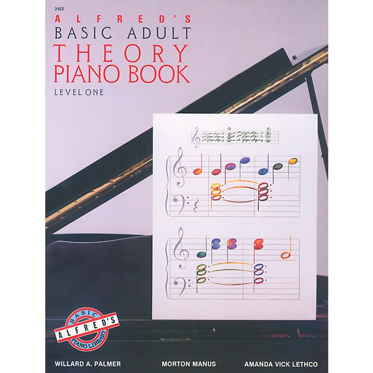 AlfredAlfred's Basic Adult Piano Course Theory Book 1