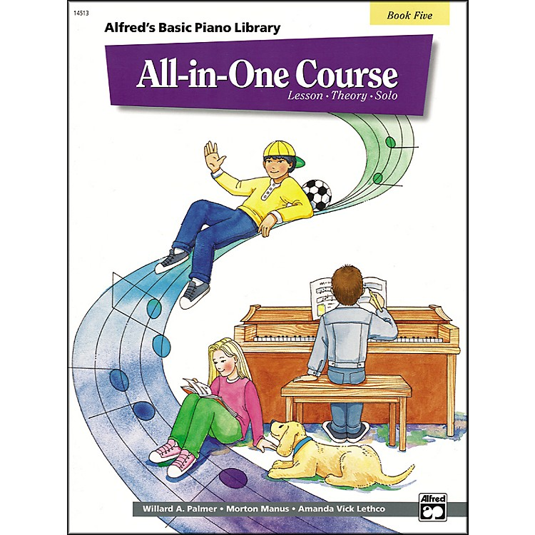 Alfred Alfred's Basic All-in-One Course for Children Book 5