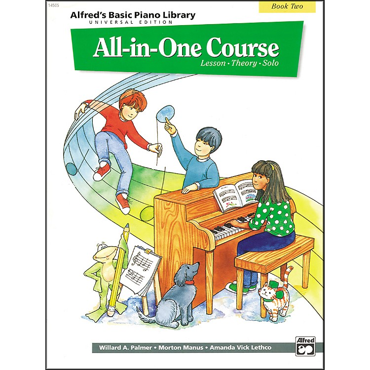 AlfredAlfred's Basic All-in-One Course for Children Universal Edition Book 2