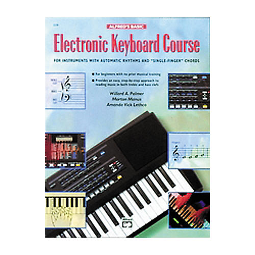 Alfred Alfred's Basic Electronic Keyboard Course