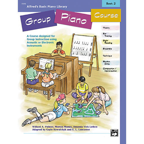 Alfred Alfred's Basic Group Piano Course Book 2-thumbnail