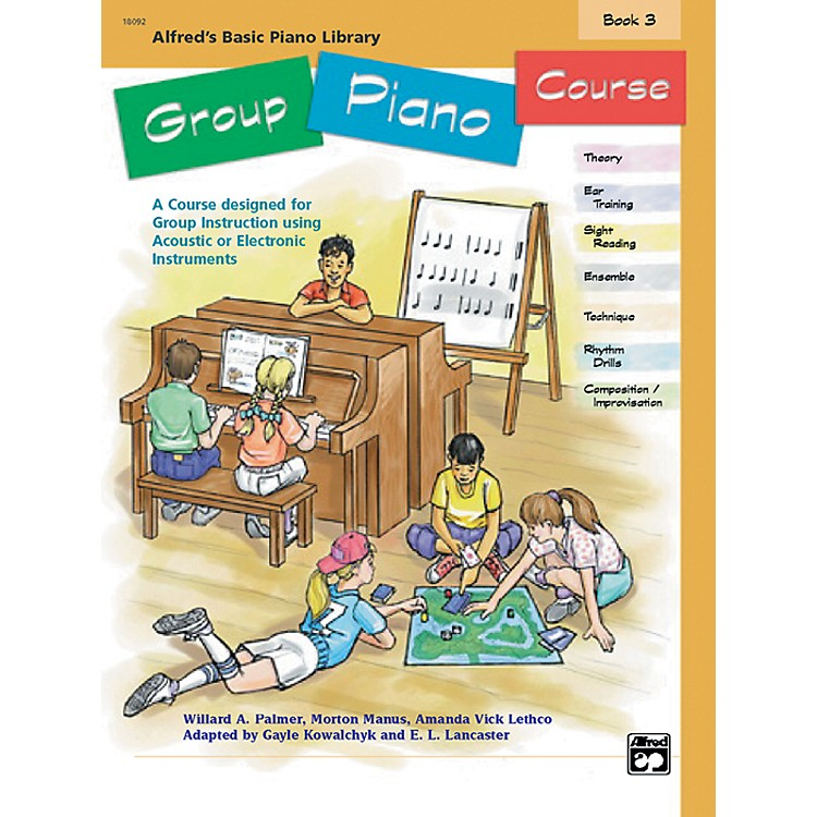 Alfred Alfred's Basic Group Piano Course Book 3 Book 3
