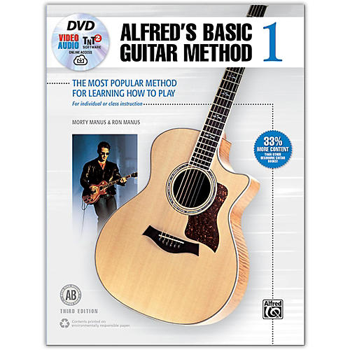 Alfred Alfred's Basic Guitar Method 1 Book DVD & Enhanced CD