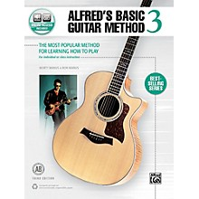 Alfred Alfred's Basic Guitar Method 3 Book & Online Audio (Third Edition)
