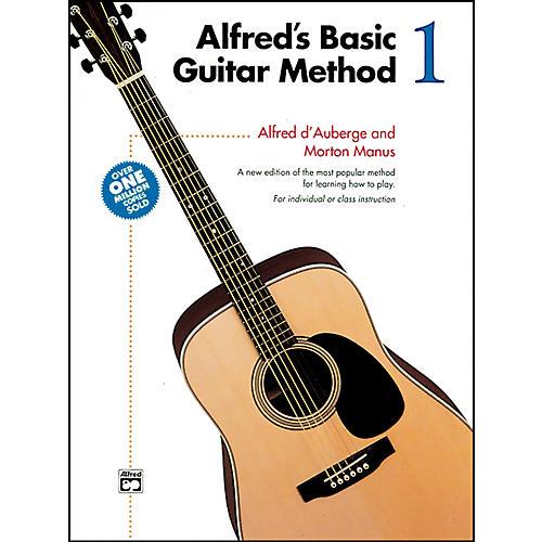 Alfred Alfred's Basic Guitar Method Book 1-thumbnail