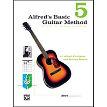Alfred Alfred's Basic Guitar Method Book 5