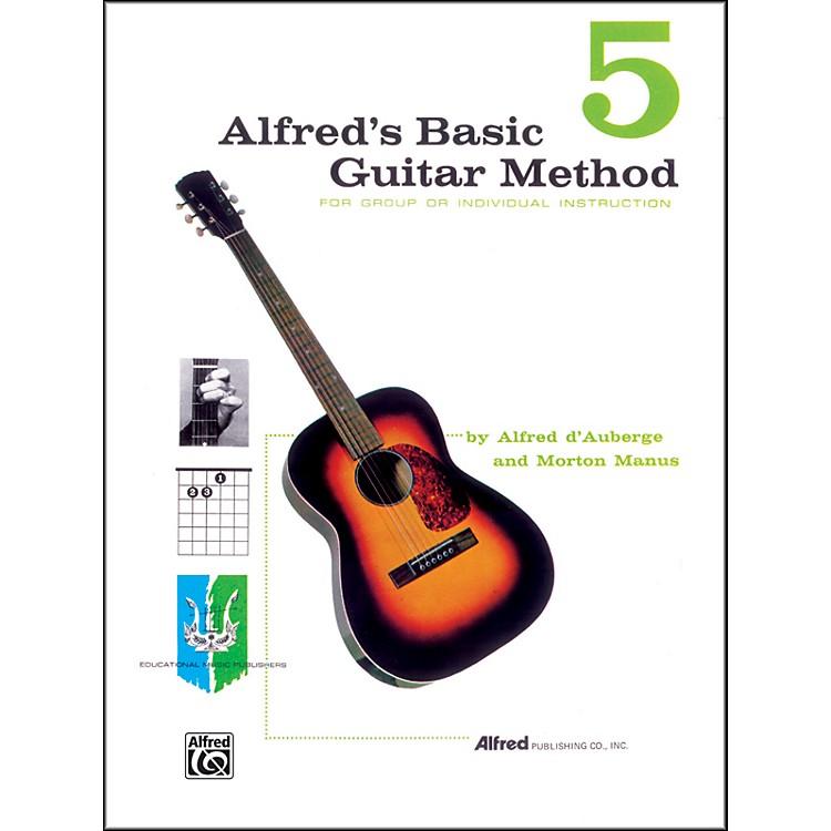 AlfredAlfred's Basic Guitar Method Book 5