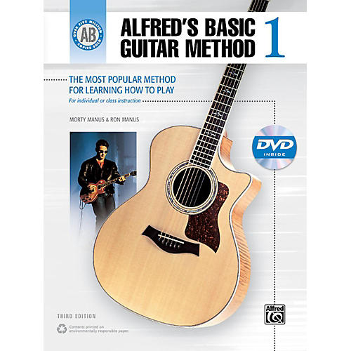 Alfred Alfred's Basic Guitar Method Level 1 Book and DVD