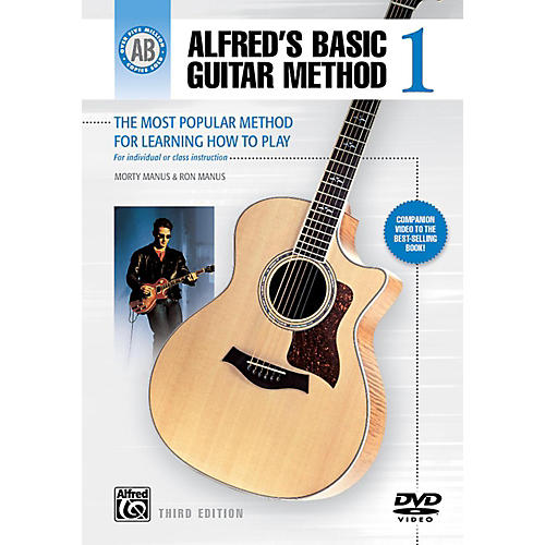 Alfred Alfred's Basic Guitar Method Level 1 DVD