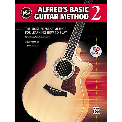 Alfred Alfred's Basic Guitar Method Level 2 Book and CD
