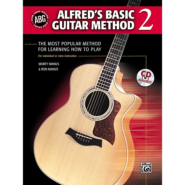 AlfredAlfred's Basic Guitar Method Level 2 Book and CD