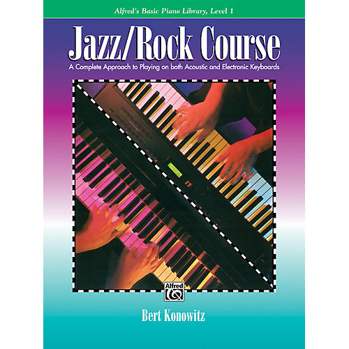Alfred Alfred's Basic Jazz/Rock Course Lesson Book Level 1