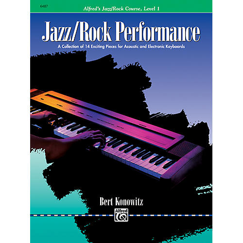 Alfred Alfred's Basic Jazz/Rock Course Performance Level 1