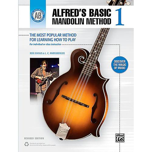 Alfred Alfred's Basic Mandolin Method 1 (Revised) Book-thumbnail