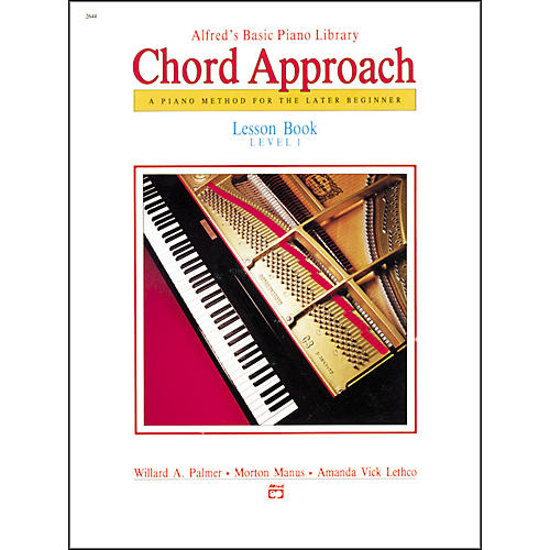 Alfred Alfred's Basic Piano Chord Approach Lesson Book 1