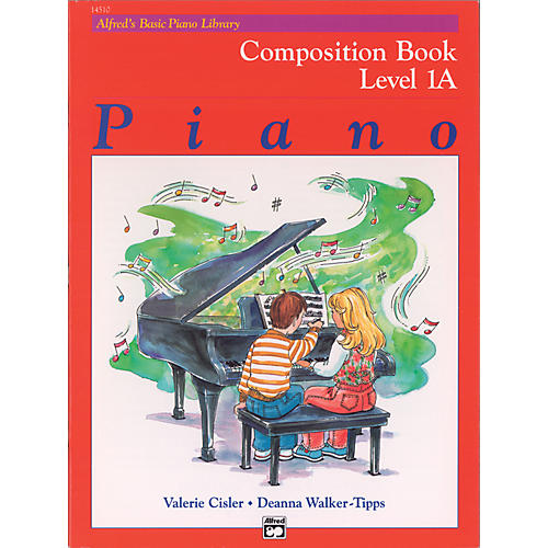 Alfred Alfred's Basic Piano Course Composition Book 1A