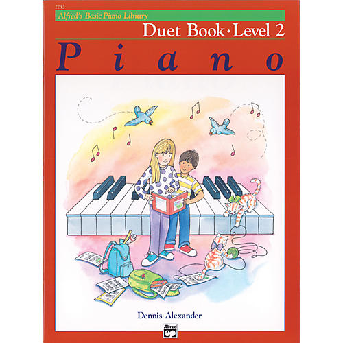 Alfred Alfred's Basic Piano Course Duet Book 2
