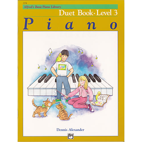 Alfred Alfred's Basic Piano Course Duet Book 3