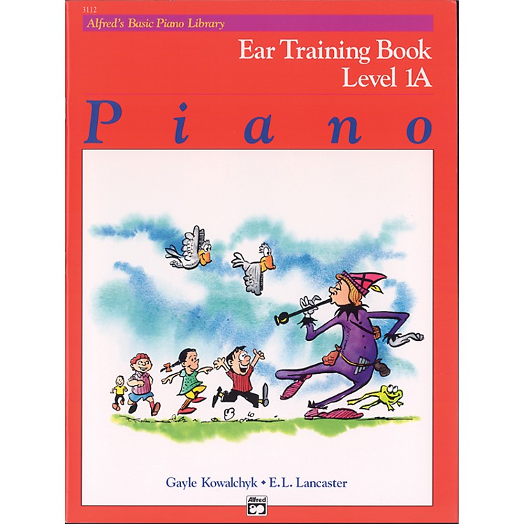 AlfredAlfred's Basic Piano Course Ear Training Book 1A