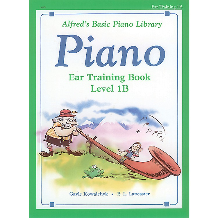 Alfred Alfred's Basic Piano Course Ear Training Book 1B