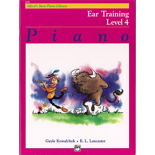 Alfred Alfred's Basic Piano Course Ear Training Book 4-thumbnail