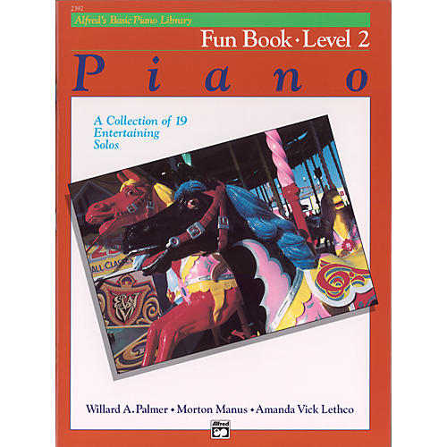Alfred Alfred's Basic Piano Course Fun Book 2