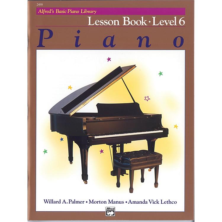 AlfredAlfred's Basic Piano Course Lesson Book 6
