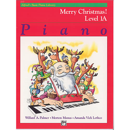 Alfred Alfred's Basic Piano Course Merry Christmas! Book 1A