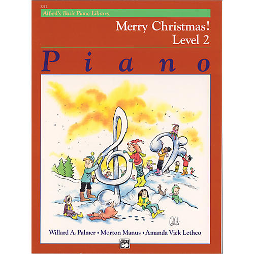 Alfred Alfred's Basic Piano Course Merry Christmas! Book 2