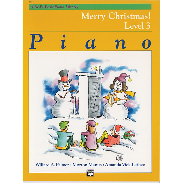 Alfred Alfred's Basic Piano Course Merry Christmas! Book 3