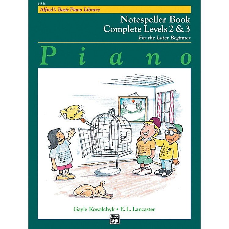 AlfredAlfred's Basic Piano Course Notespeller Book Complete 2 & 3