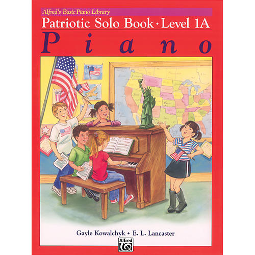 Alfred Alfred's Basic Piano Course Patriotic Solo Book 1A-thumbnail