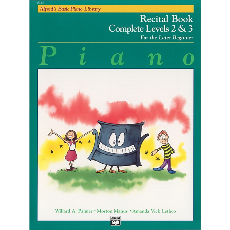 Alfred Alfred's Basic Piano Course Recital Book Complete 2 & 3