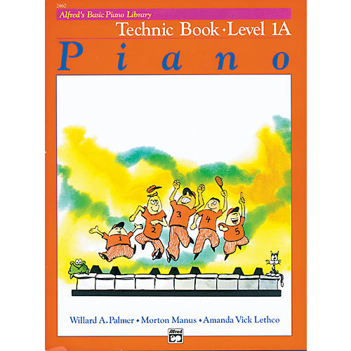 Alfred Alfred's Basic Piano Course Technic Book 1A